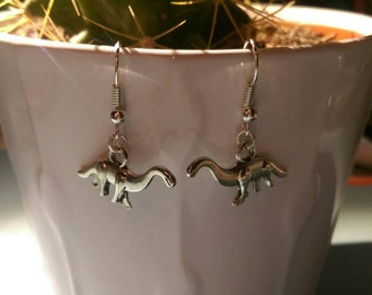 Dinosaur Dangle Earrings