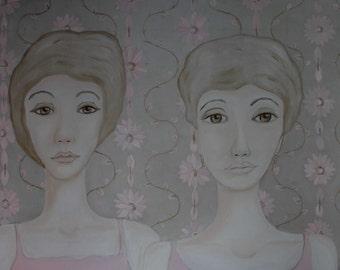 Ghost Women on Wallpaper