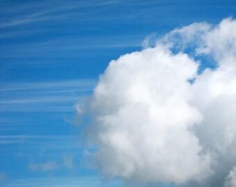 Cloud Racing, Cloud Photograph, Sky Art, Nature Photography, Wall Art, Home Decor