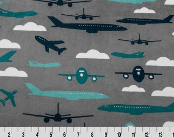 Airplane Fabric Etsy