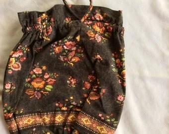 VERA BRADLEY Ditty/Toiletry Bag in Retired CHOCOLAT Pattern