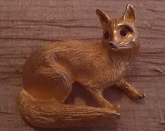 Fox Vintage Pin
