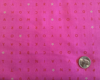 Word find Pink for Cotton + Steel