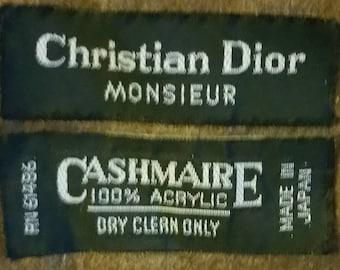 Christian Dior Cashmaire Scarf.