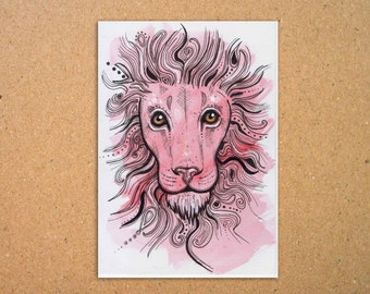 Original Lion Illustration