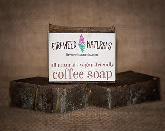 Premium, Kitchen Coffee Soap Bar - Vegan Friendly, Cold Process
