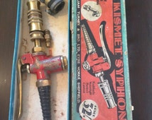 The Kismet Syphon - rare vintage car/truck/van accessory - radiator filling and car washing tool - William Turner & Bro Ltd