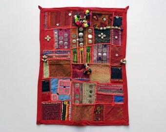 banjara patchwork tapestries
