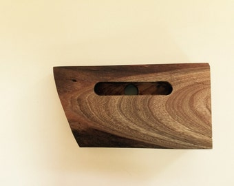 Avocado wood Iphone stand finished in Tung Oil