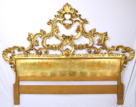 Lit baroque italien - Tete de lit baroque ...