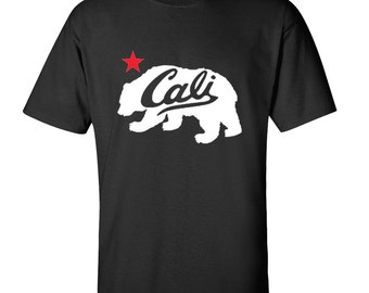 Cali Bear Men's T-Shirt