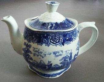 Arabia Teapot Delfts Blue '60