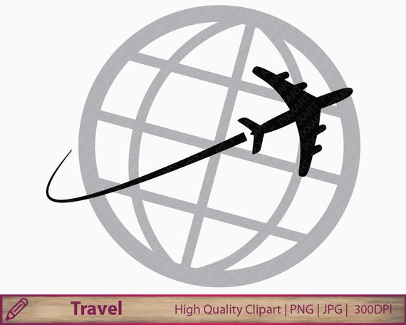 vacation airplane clip art - photo #28