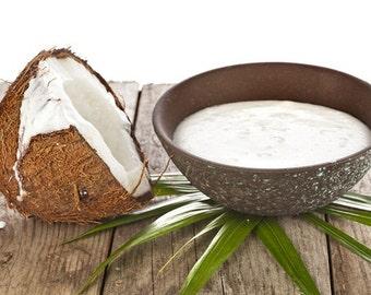 1/2 oz Coconut Cream Flavor Oil Sweetened Lip Balm Body Oils