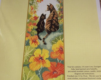 Bothy Threads Follow Me 1 Calico cat and kitten