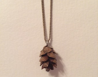 Baby Pinecone Necklace