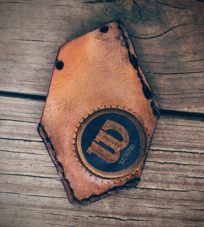 Recycled baseball glove wallet - Baseball Glove Wallet Recycled