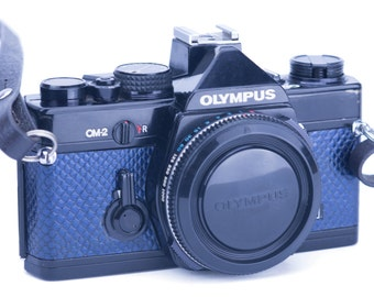 Olympus OM-1 or OM-2 Replacement Leatherette Cover - Recycled Leather