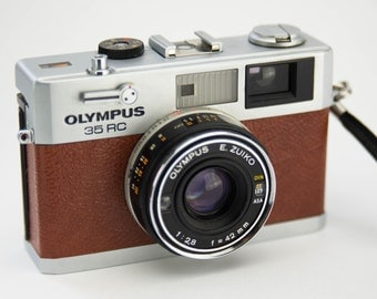 Olympus 35 RC Replacement Leatherette Cover - Recycled Leather