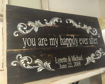 You Are My Happily Ever After-Personalized