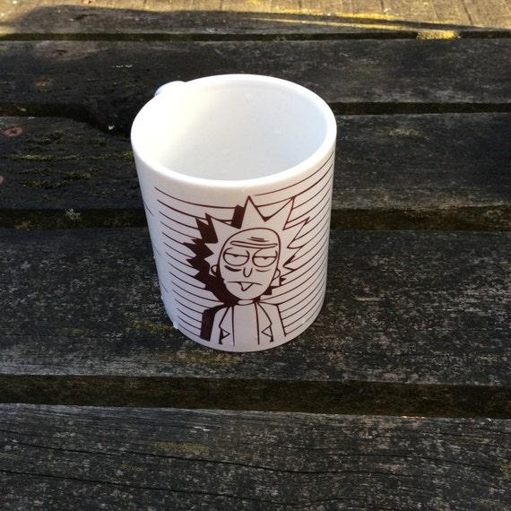 Rick from Rick and Morty Mug
