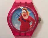 Divine Pink Flamingos watch