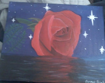 Rose on Water