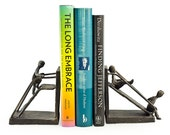 Children on a Slide Iron Bookend Set Contemporary Style Home Decor Danya B™ ZI12136