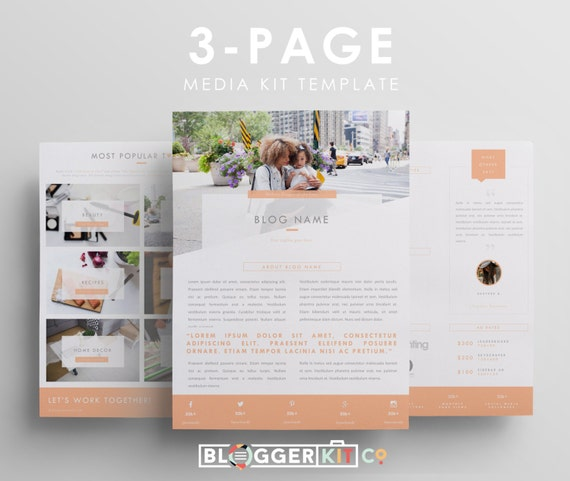 digital press kit template free - 28 images - one page media kit ...
