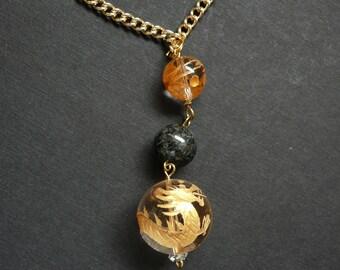 Golden Dragon Necklet