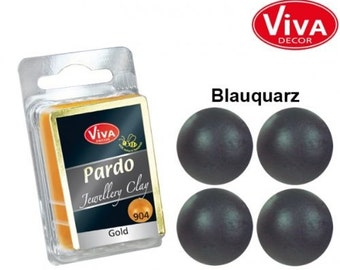 Viva Decor Pardo Clay Quartz Blue #609 Jewelry Clay 56g