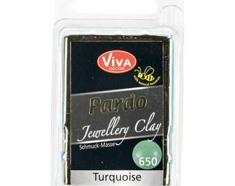 Viva Decor Pardo Clay Turquoise #650 Jewelry Clay 56g