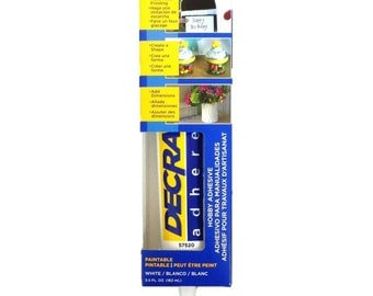 Decra Adhere Hobby Adhesive, Deco Cream, Deco Whipped Cream, Kawaii, Decoden,