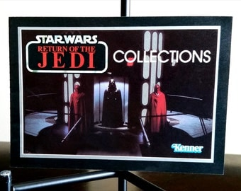 STAR WARS Return of the Jedi Collections Catalog featuring Darth Vader Cover ©1983 Kenner Toys
