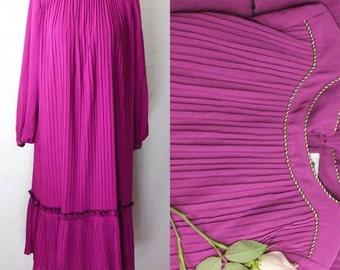 Vintage Magenta Dress by Florid