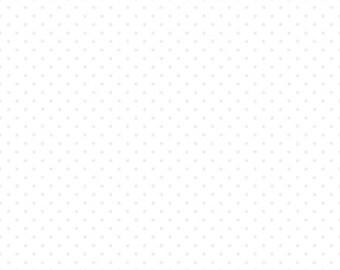 Swiss Dot Tone On Tone White by Riley Blake Designs - C790-150 - 1/2 yard cut