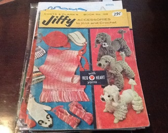 Vintage knitting dolls clothes,clothing crocheting,and home , exciting patterns