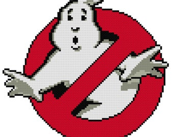 Ghostbusters Cross Stitch Pattern