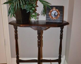 Vintage Wood Wall Table