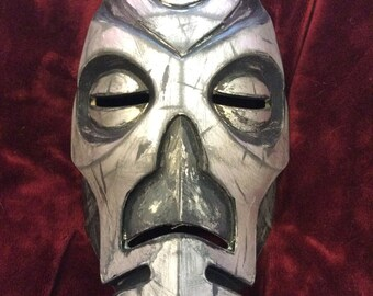 Skyrim mask, Dragon priest, Cosplay, 3D printed and hand painted