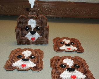 Puppy Coaster Set