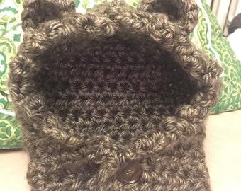Baby Bear Hoodie Cowl