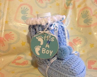 Baby Bootie Wet One's Container