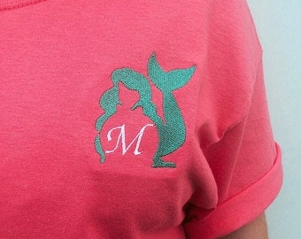 Mermaid Monogram T-Shirt