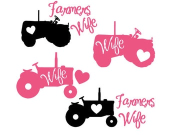 Farmers Wife Decal