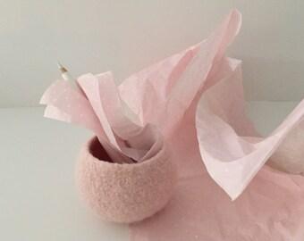 Pink pod bowl