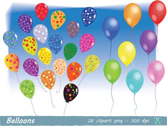 Luftballons Bilder clip Art Geburtstag Bunting