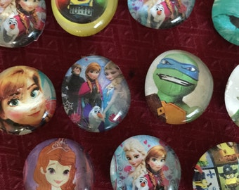HandCrafted Character Magnets