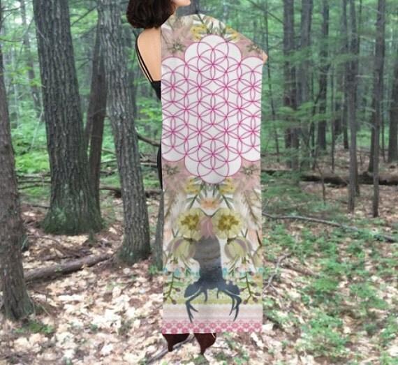 Wedding Altar Cloth: Silk Altar Cloth Ostara Altar Cloth Pagan Wheel Of The Year