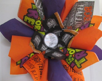 Trick Or Treat Wreath
